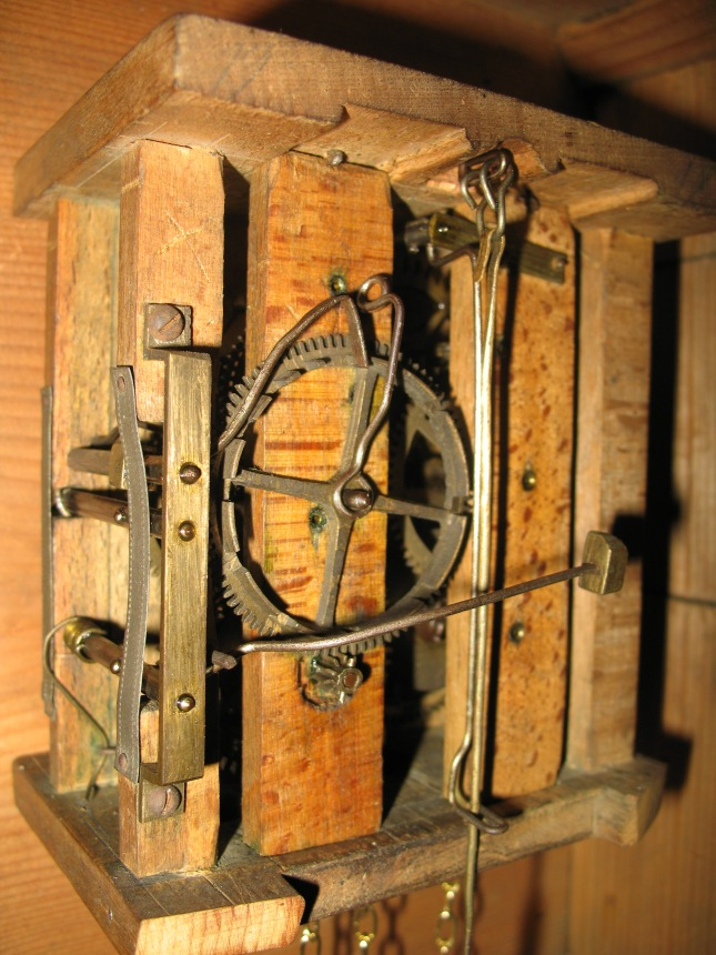 wooden clock movements