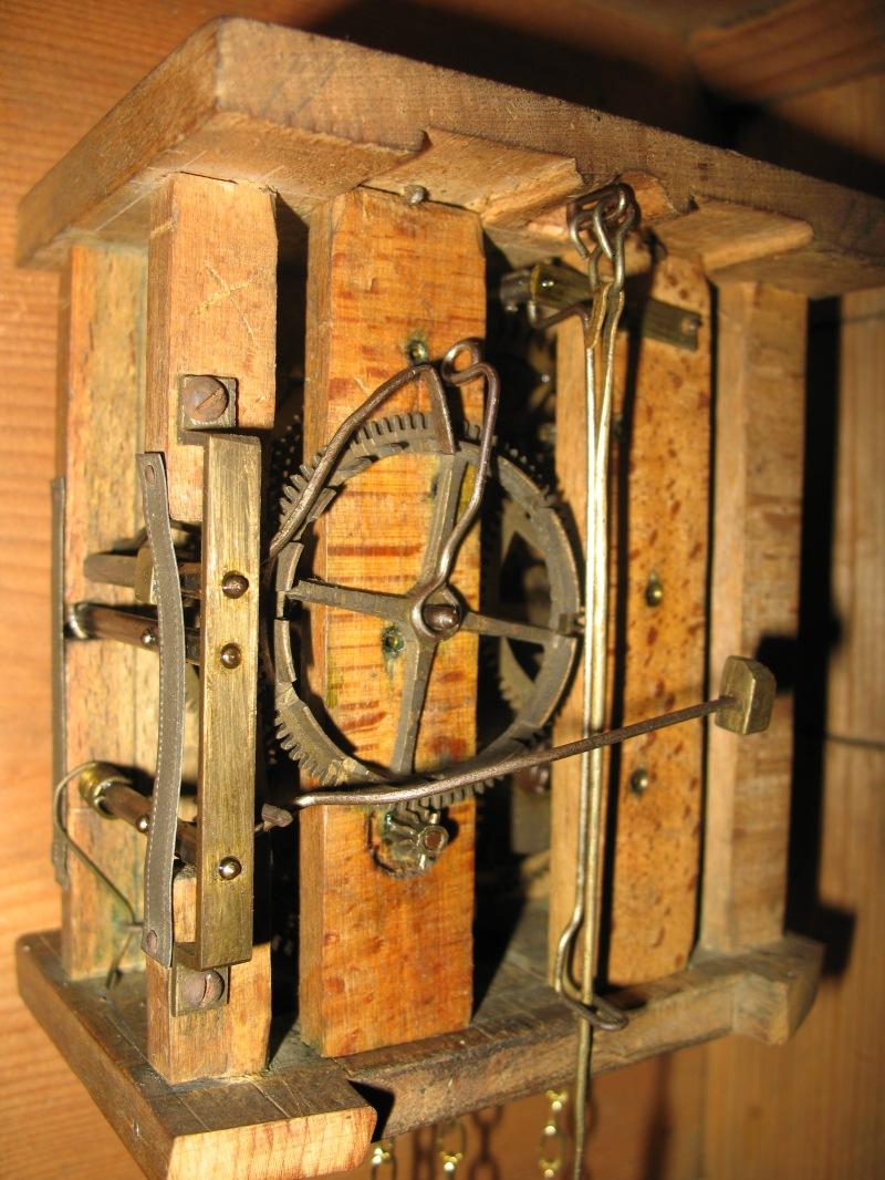 free wooden clock movement plans