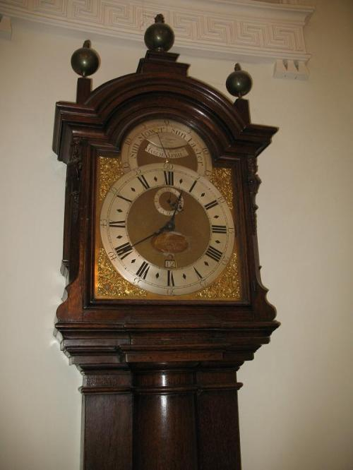 Tompion clock in The Pump Room