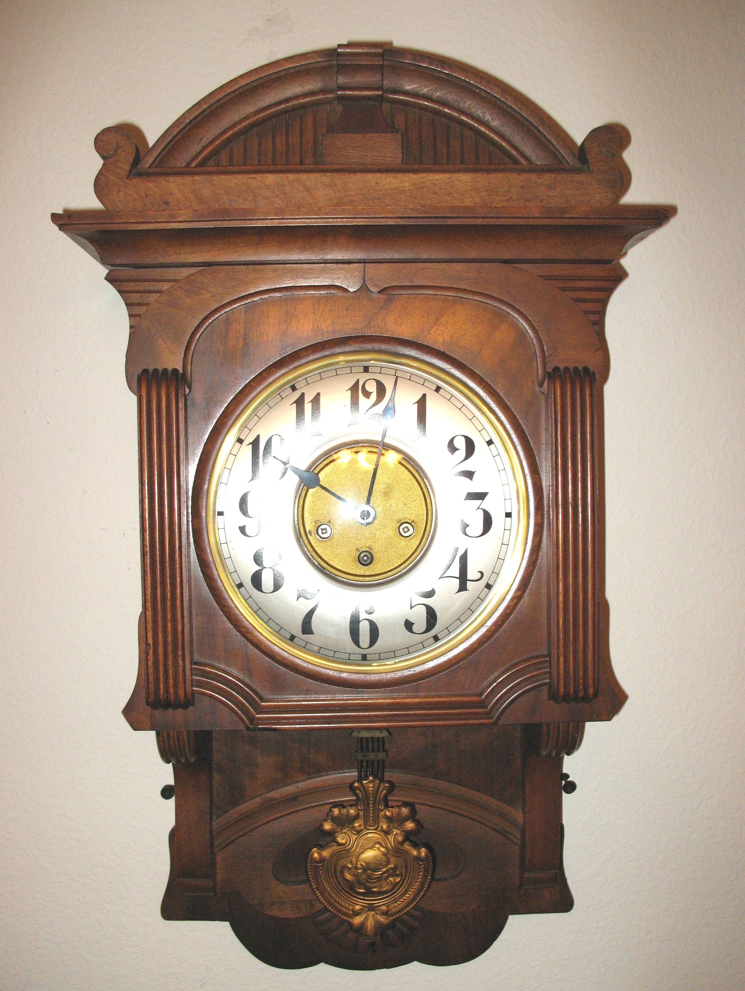 Wall Mounted Grandfather Clock Junghans Due Time