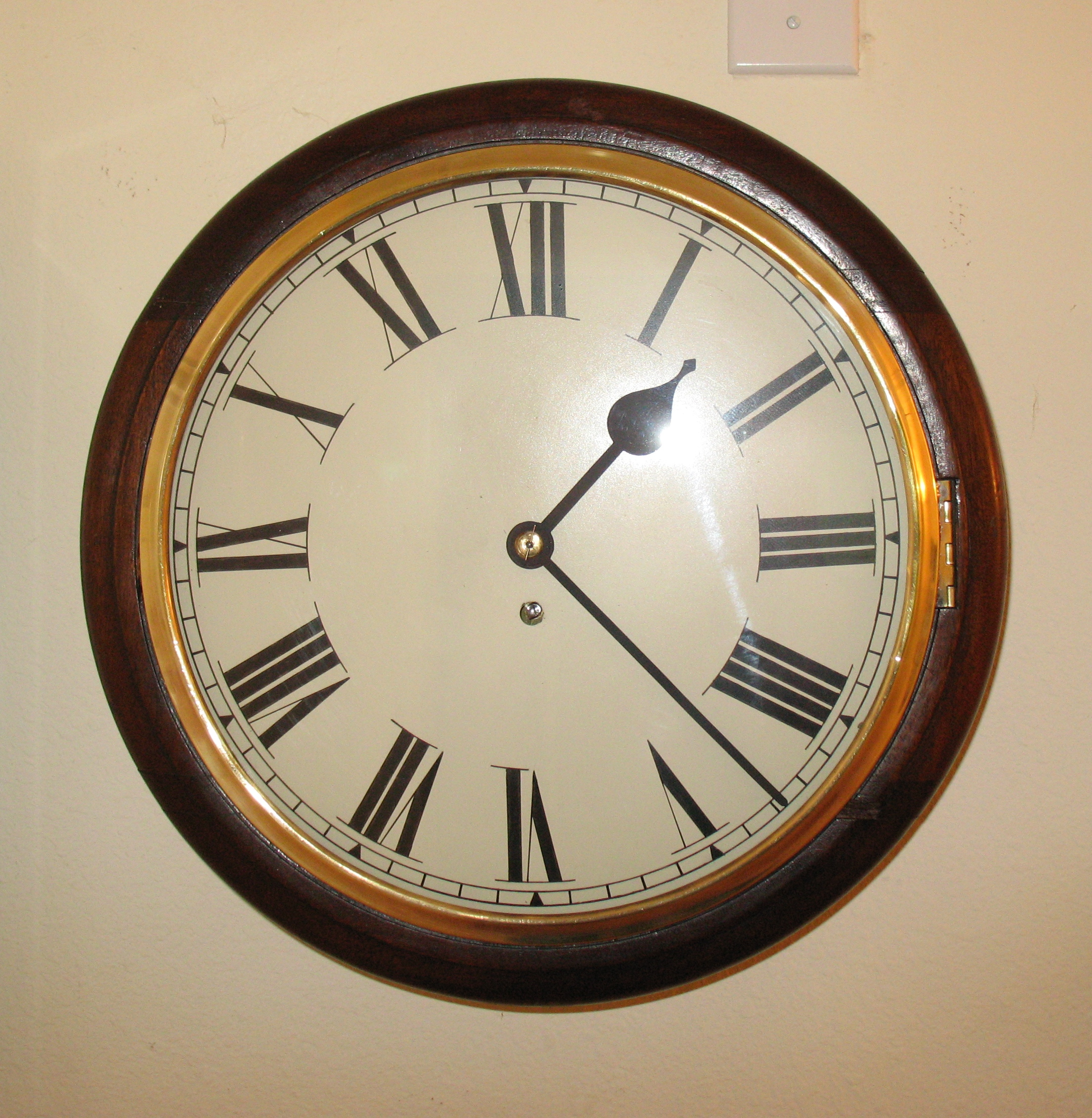 Wall Clocks Spring Wound Due Time