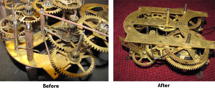 urgos clock movement repair manual